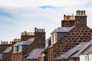 dakdoorvoer cv schuin dak